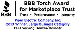 BBB Torch Award Recipient