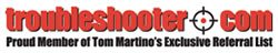 Tom Martino Troublshooter Logo