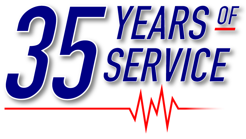 35 Years of Service